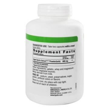Kyolic - Formula 100 Aged Garlic Extract Cardiovascular - 300 Capsules