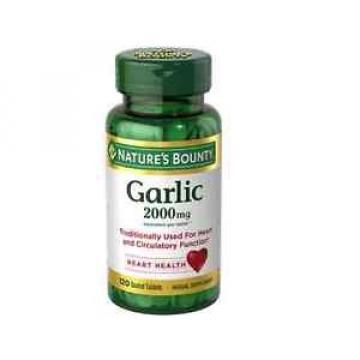 Nature's Bounty Garlic 2000mg, Tablets 120 ea