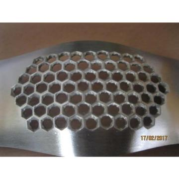 Stainless steel garlic press grinding slicer mincer metal kitchen