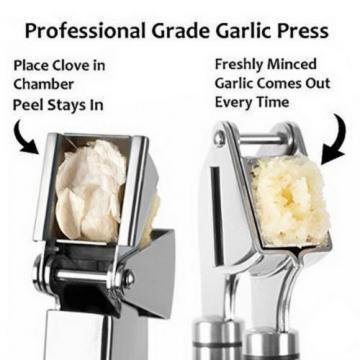Top Quality Stainless Steel Garlic Ginger Mincer Crusher Slicer Presses Kitchen