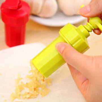Plastic Multifunction  Garlic Press  Garlic Grinding Home Kitchen Fruit Vegetabl
