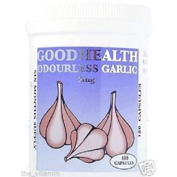 Garlic (Odourless Capsules) 6 Months supply )