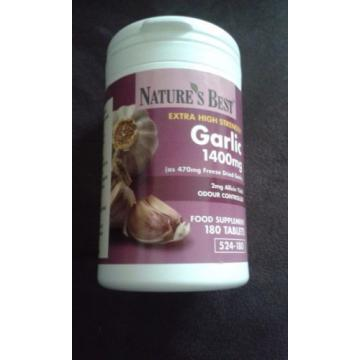 Nature Best Extra Strength Garlic tablets