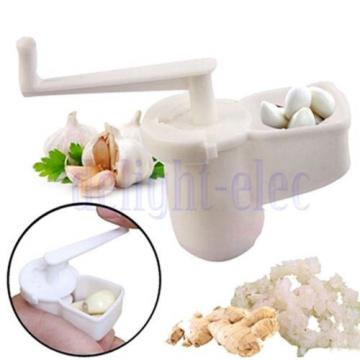 Multifunctional Garlic Ginger Crusher Grinder Press Rotate Kitchen Gadget DE