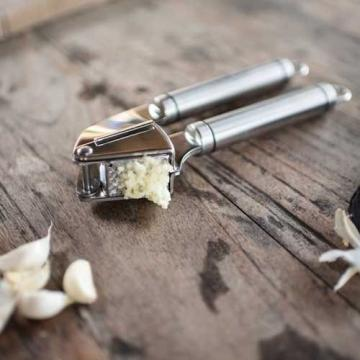 Garlic Press, Best Garlic Press Manual Crusher Heavy Duty Stainless Steel