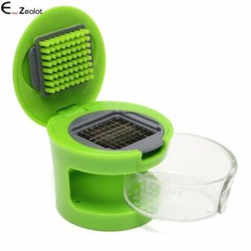 1PC Garlic Chopper Garlic Press Crusher Slicer Grater Shredder Slicing Dicing