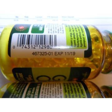 Garlic Oil 5000mg-Odorless Garlic and Parsley 2X100 Very Fresh Pills Antioxidant