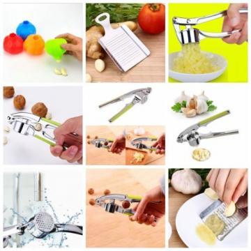 Kitchen Tools Garlic Peeler Ginger Grinding Grinder Mincer Crusher Press Cutter