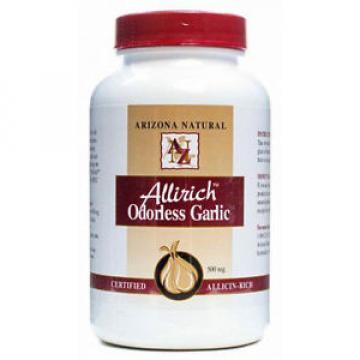 ARIZONA NATURAL- Allirich Odorless Garlic - 200 Softgels