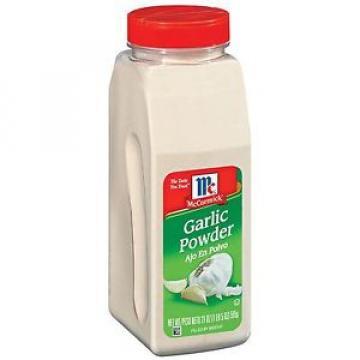 McCormick Garlic powder 21oz bottle Always Fresh Stock
