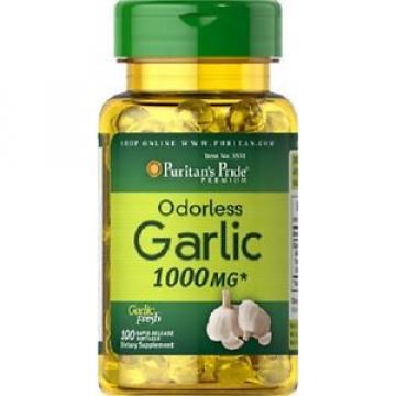 Knoblauch 1000 mgr. 100 kaps. natürliches Antibiotikum, Garlic