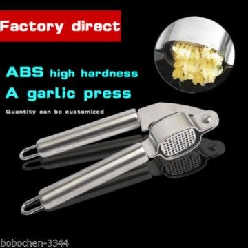 Professional Quality Stainless Steel Hand Squeeze Juicer Jumbo Garlic Presses