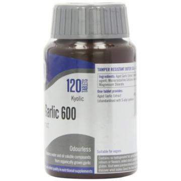 Quest Kyolic Garlic 600mg - 120 Tablets 120tabs NEW