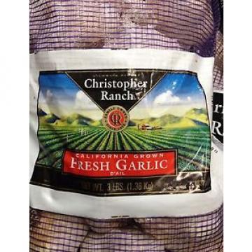 3 Pounds Fresh Garlic California Grown by Christopher Ranch USA, Gilroy Finest