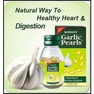 Garlic Pearls Capsules to keep Healthy Heart & Digestions Expiry 2018