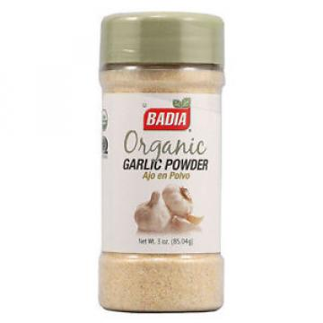 Organic Garlic Powder - Badia - 85.4 g - USA Import
