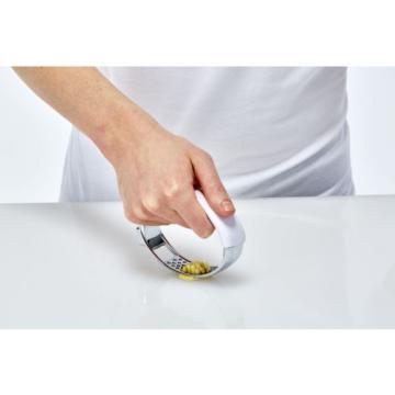 Crisp Garlic Press - Complete Garlic Tool - Innovative Garlic Mincer Crusher
