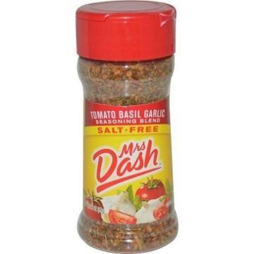 Mrs Dash Tomato Basil Garlic Salt-Free Seasoning Blend