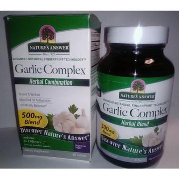 Nature's Answer Garlic Complex 90 Tablets
