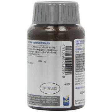 Quest Kyolic Garlic 1000mg - Aged Garlic Extract - 60 Tablets 60tabs