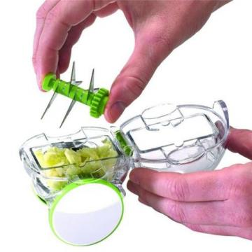 Garlic Chopper Presser Crusher Press Chop Vegetable Grater Slicer Kitchen Tool