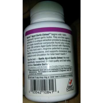 Kyolic Aged Garlic Extract Total Heart Health Formula 108 - 100 Capsules
