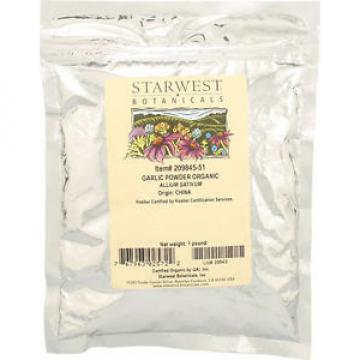 Starwest Botanicals Organic Garlic Powder - 1 lbs