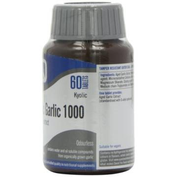 Quest Kyolic Garlic 1000mg - Aged Garlic Extract - 60 Tablets NEW