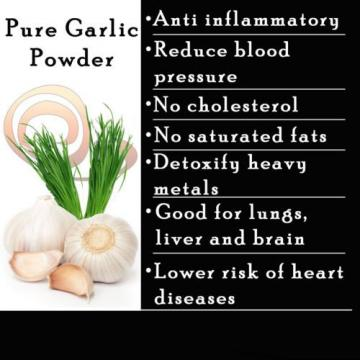 Garlic Powder 100% FULLY ORGANIC From CEYLON #1 QUALITY