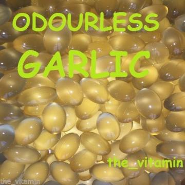 Garlic 2mg 90 Odourless Capsules   3 Months supply. (L)
