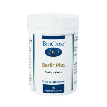 BioCare Garlic Plus with Biotin, 90 Vegetarians Capsules ( Best Before 04/2017 )