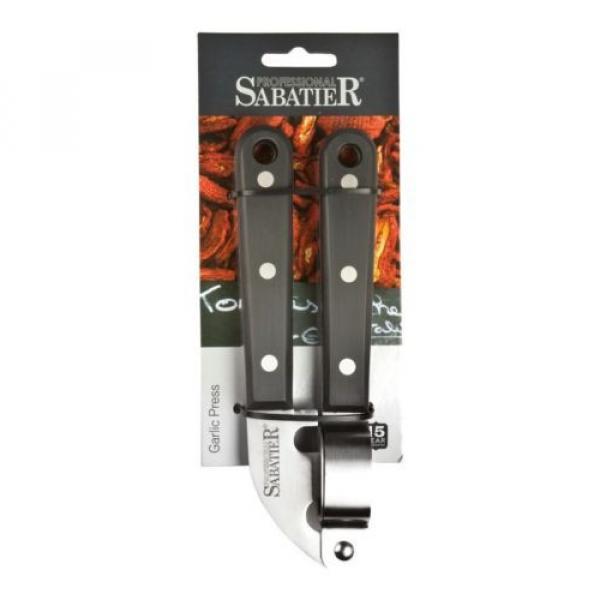 Sabatier Professional Stainless Steel Garlic Press Crusher SABTG010 #2 image